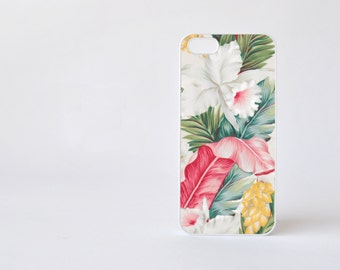 White Hibiscus iPhone 4 Case - Floral iPhone 4s Case - Flowers Print iPhone 5 Case - Floral iPhone Case - Accessories for iPhone 5s
