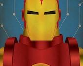Minimal Heroes: Iron Man
