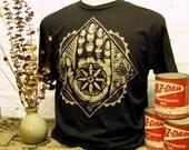 Hand Emblem T-shirt // BLK.RTS. Brand