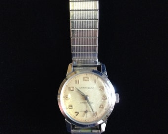 Vintage and collectible Caravelle 1970's Mens Watch (JT6)