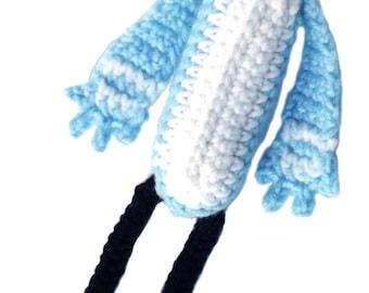 Li'l Mordecai Plush Crochet Amigurumi Pattern - DIGITAL DOWNLOAD