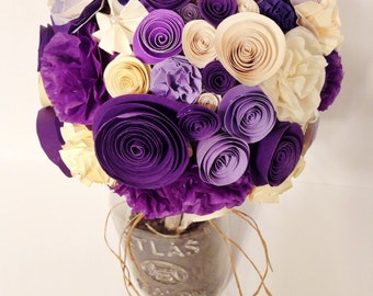Beautiful Paper Bouquet Of Flowers Ideas   Wedding Gowns For Every .