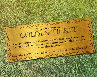 Reward etsy golden ticket class reward for teachers printable instant download pronofoot35fo Images