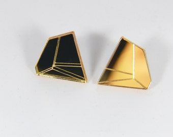 In.Line Earrings gold