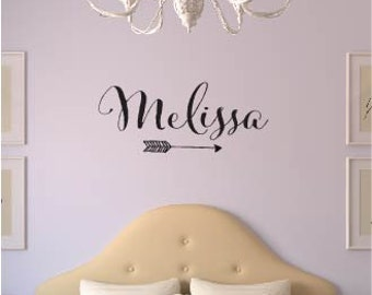 Name Decal - Personlized Name Decal - Girl Name Vinyl Decal - Name Sticker - Personalized Decal - Children Name - Decals