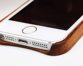 Real Solid Wood iPhone 5 and 5s Case