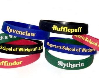 Hogwarts House Silicone Bracelet