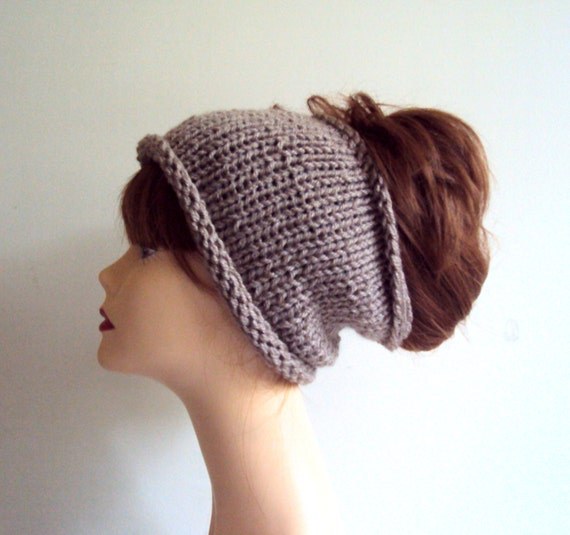 Knitting Pattern For Yoga Wrap : Knit Head Band Head Wrap Yoga Fitness Workout by GrahamsBazaar
