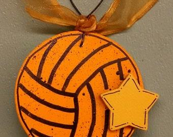 Water Polo Ball Christmas Ornament