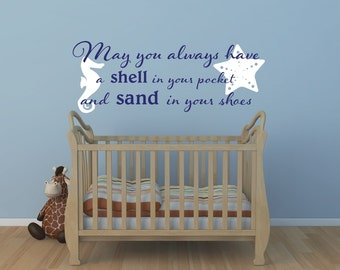Beach Sayings Etsy - Wall decals beach quotes
