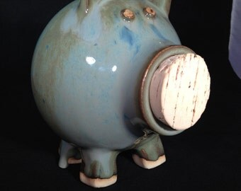 Popular items for handmade piggy bank on etsy - Coink piggy bank ...