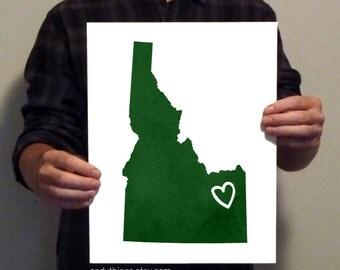 Idaho Love - 11x14 Print