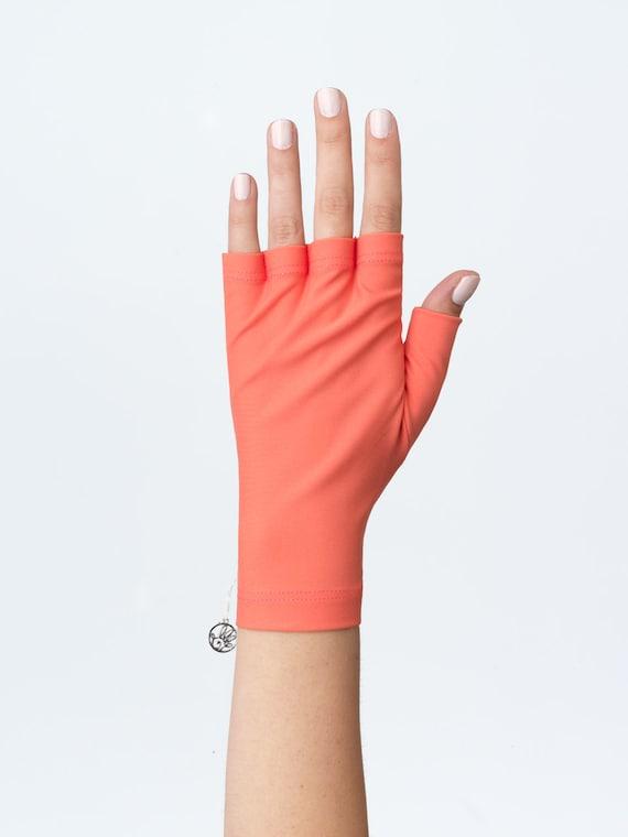 Fun Sun Protection Fingerless Gloves