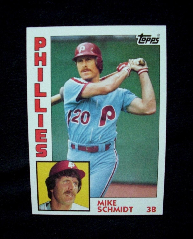 1984 Topps Baseball 700 Mike Schmidt Philadelphia Phillies
