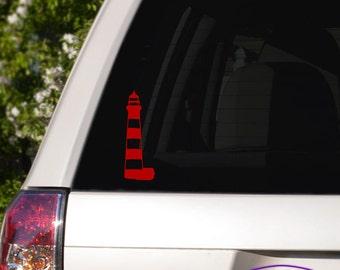 Lighthouse Car Window Decal
