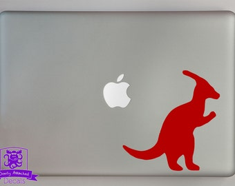 Parasaurolophus Dinosaur Decal Macbook Laptop