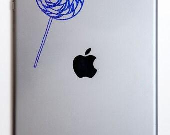 Spiral Lollipop iPad Decal