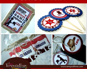 Cowboy Printable birthday Party