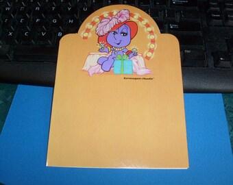 vintage kent moodies greeting card EXTRAVAGANT MOODIE you deserve the best card  unused