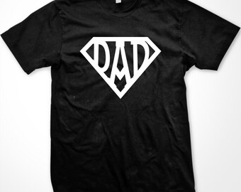 SUPER DAD! Happy Father's Day T-Shirt - GH_00191_tee