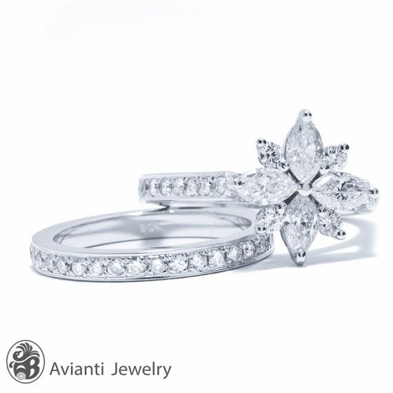 marquise diamond flower ring diamond flower ring diamond. Black Bedroom Furniture Sets. Home Design Ideas