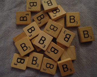 Individual Tile Letter B
