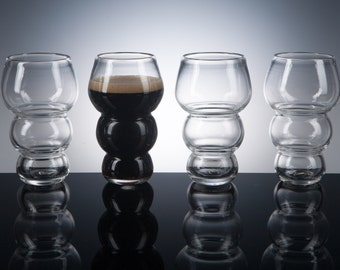 Malty Beer Glass, Set of 4