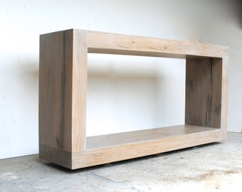 The Salvaged Oak Collection- Console Table