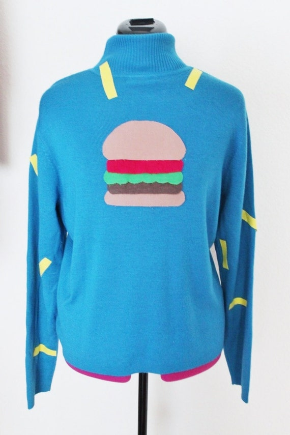 Gravity Falls Mabel Pines Hamburger Sweater Disney Costume