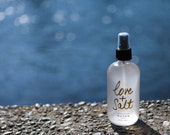 Love + Salt Beach Mist 8 OUNCE size for hair and body...As seen in Vogue, Harpers Bazaar, Refinery 29