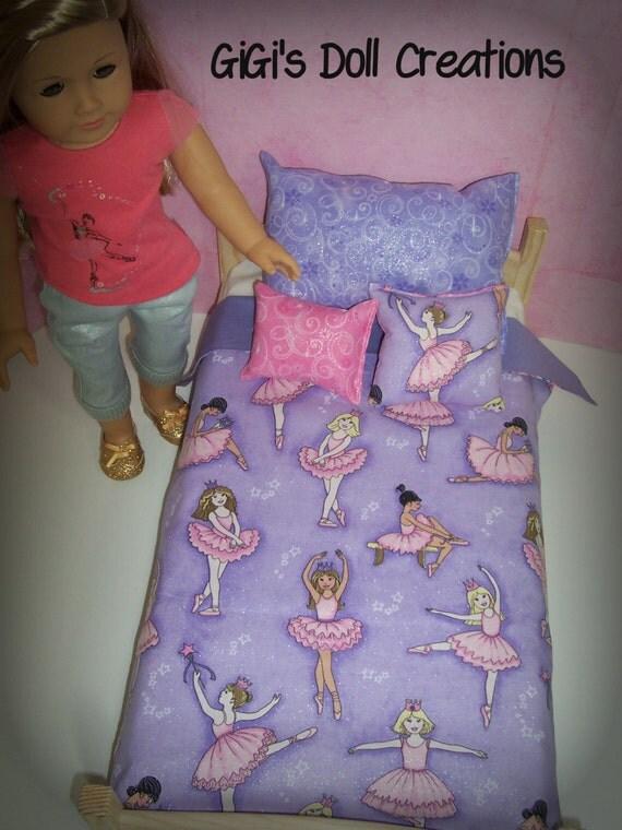 Ballerina Bedding for American Girl doll