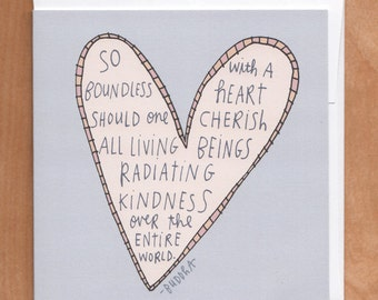 BOUNDLESS HEART 5x5 Card (5-4C)