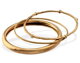 Stacking Bangles Gold Bangles Gold Bracelets Unique Gold Bangles Different Gold Bangles Stackable Bangles Hammered Gold Bangles Unique