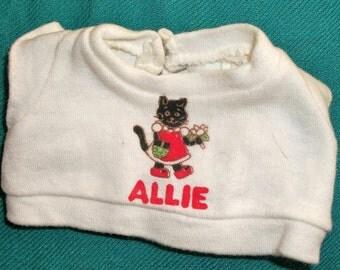 """1979 """"Allie Cat"""" Shirt"""