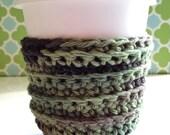 Camo Crochet Cup Cozy, Sleeve