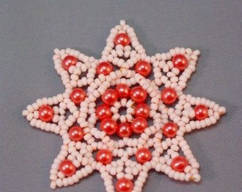 Celtic Snowflake Beaded Christmas Pattern