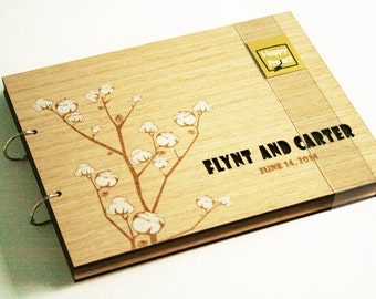custom wedding guest book envelope - guestbook - bridal shower - wedding guest book wood - book engraved - rustic wedding - wedding gift