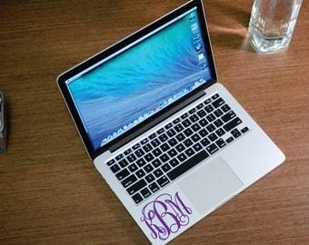 MacBook Pro Monogram Vinyl Decal