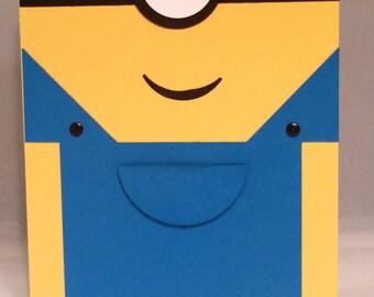 One Eyed Minion Birthday Card