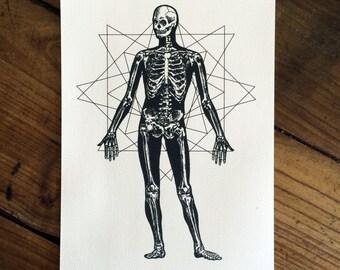 Sacred Human - Tattoo print