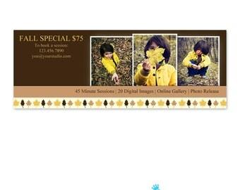 Fall Facebook Timeline Cover Template - Facebook Cover PSD - Photography Facebook Timeline Cover FB012
