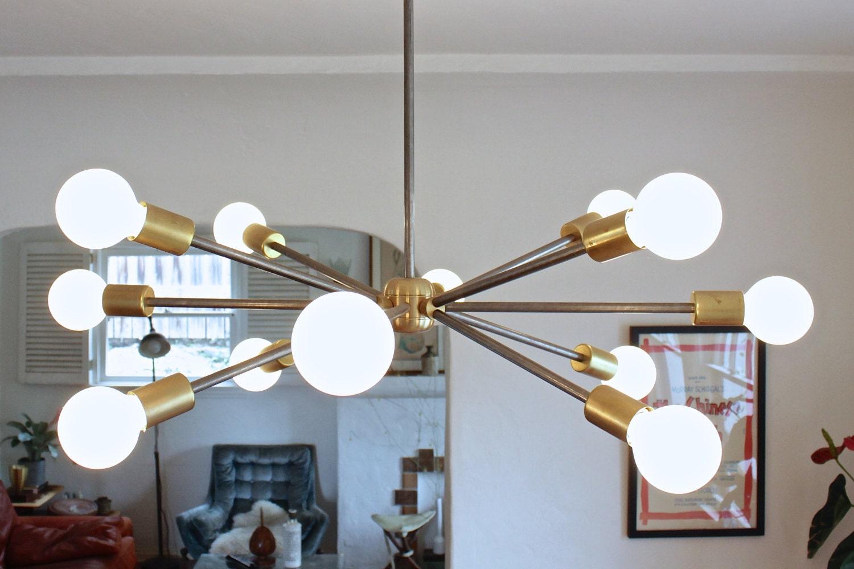 Sputnik chandelier by ninosheadesign on etsy for Sputnik chandelier
