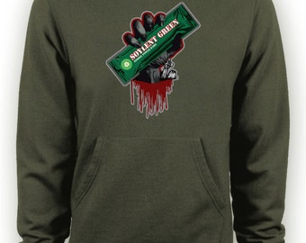 Zombies - Soylent Green - Funny Zombie Hoodie