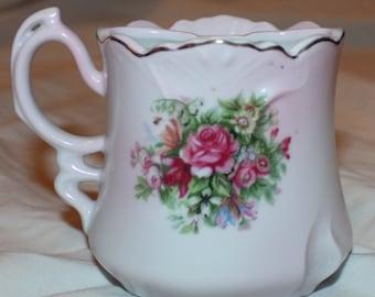 Brandenburg Vintage Ornate Mustache Cup