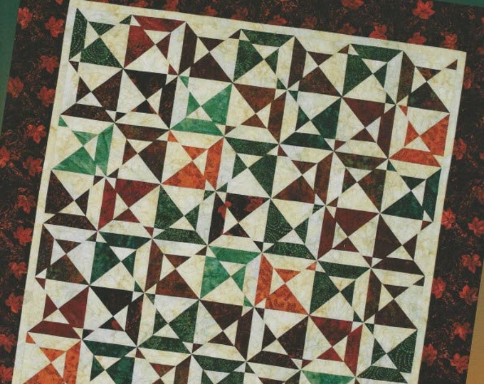 Fat Quarter Cut-Ups 2 - Quilt Pattern Book by Brenda Henning for Bear Paw Productions - 7 Quilt Designs