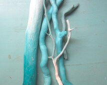 Customizable 5 set Ombre Painted Driftwood // Painted branches // spirit sticks //