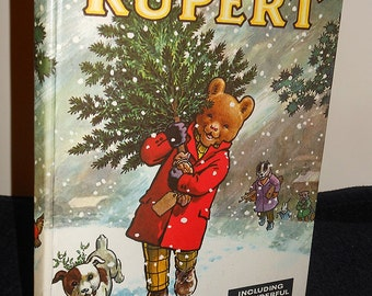 1965 Rupert Bear Annual, Vgc, Bestall, Magic Paintings
