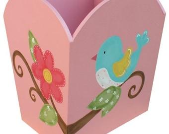 Bird Waste Paper Bin