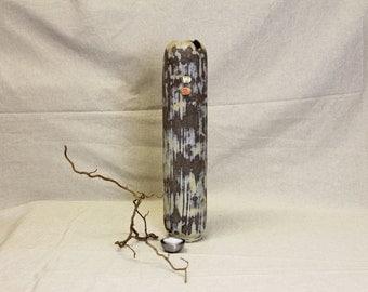 Vase ceramic vase, handmade tubes