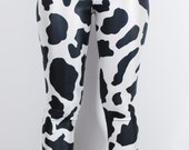 COW LEGGINGS ANIMAL full print printed digital womens ladies fashion tumblr style swag vtg hot sexy stretchy hipster fun punk retro new